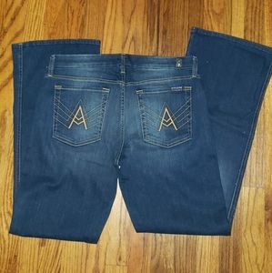 7 For All Mankind Short-Inseam A-Pocket Size 32